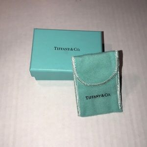 Tiffany and Co Box and dust bag